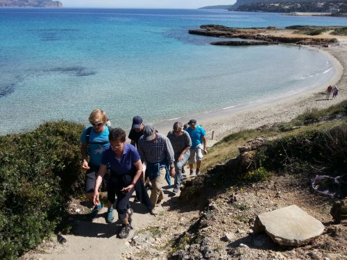 Beach hiking mallorca