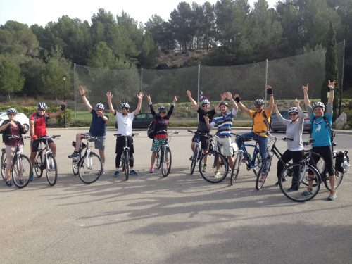 Cycling group Mallorca