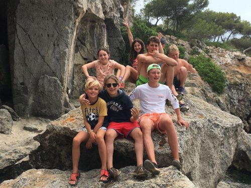 Group kids activity mallorca