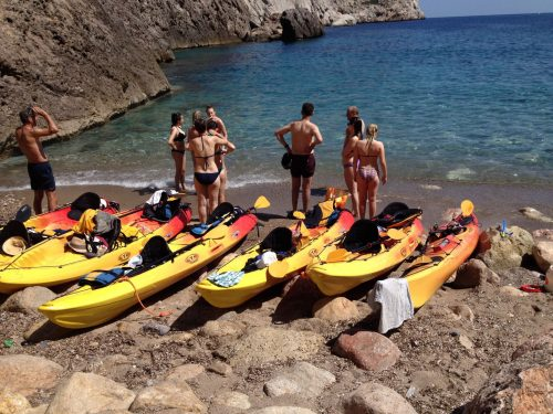 Kayaking break Mallorca