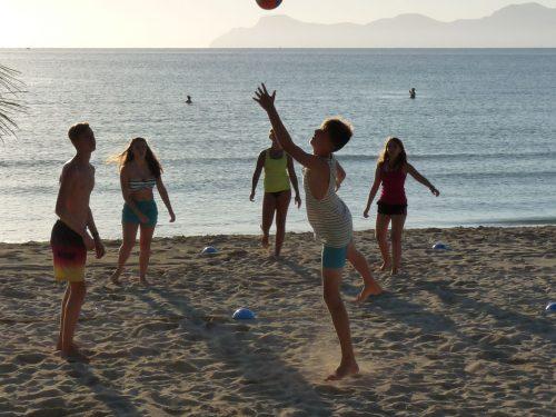 Teambuilding beach Mallorca