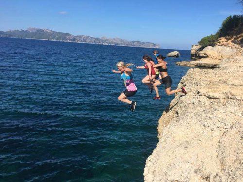 cliffjumping mallorca