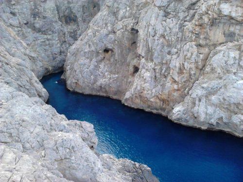 Canyon in mallorca