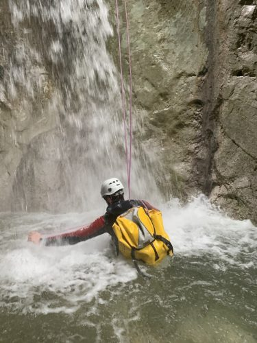 Canyoning outdoor adventures