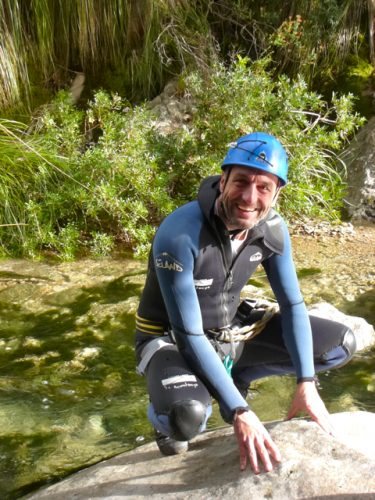 Client canyoning