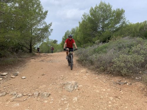Cycling with outdoor adventure sports