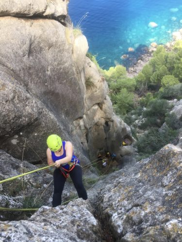 Dry canyoning adventures