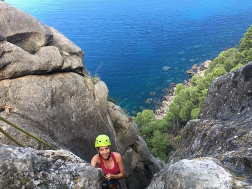 Dry canyoning in Mallorca
