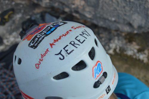 Guides helmet