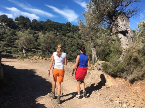 Hiking balearics