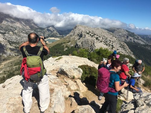Hiking in the Tramuntana Mountain range