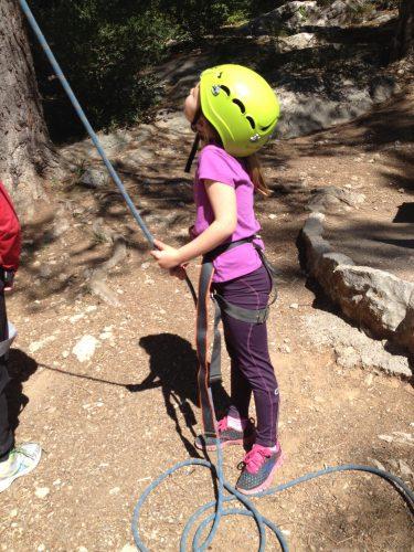 Kids climbing tours