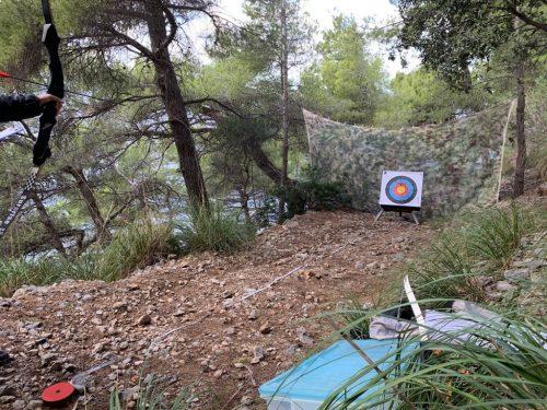 Archery game Tramuntana