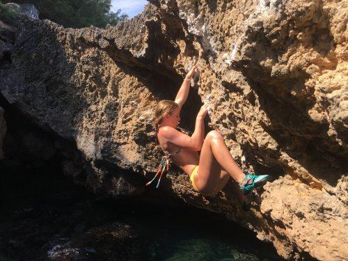 Cliff soloing mallorca