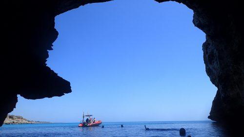 Coast challenge cave