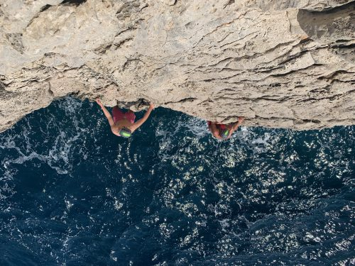 Coasteering and deep water soloing