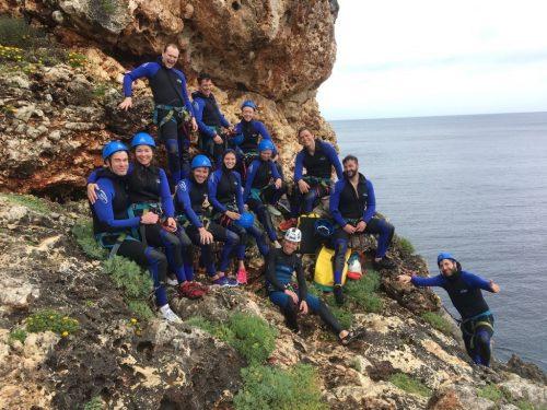 Coasteering groups Mallorca