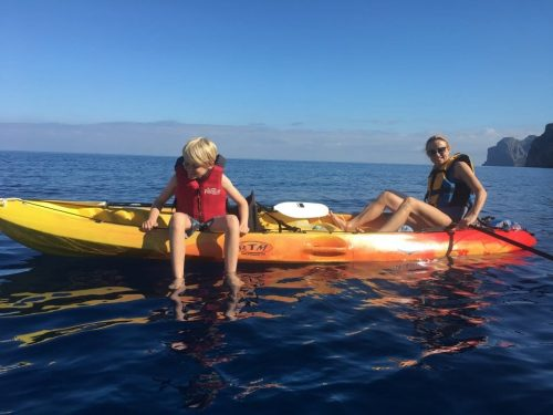 Kayak family tours