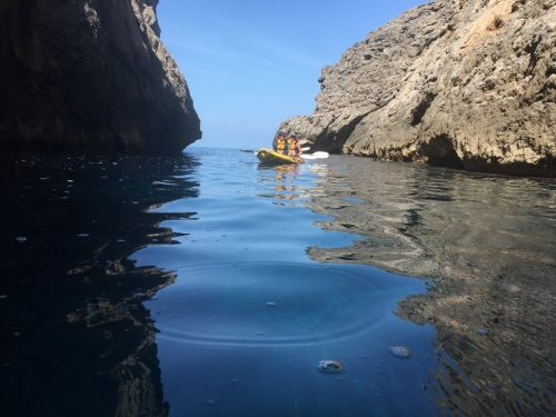 Kayaking adventures in mallorca