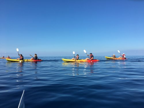 Kayaking tours in mallorca