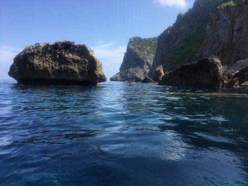 Kayaking tramuntana