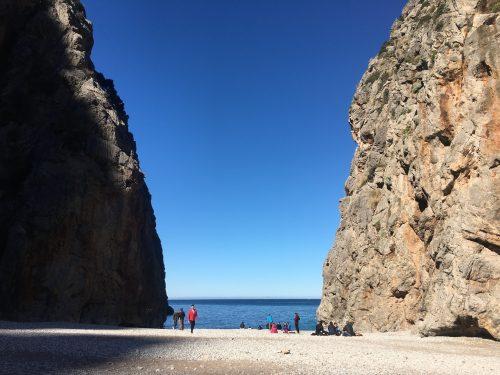 Sa calobra beach hiking