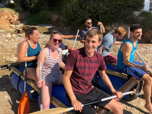 Sea Raft incetive Mallorca