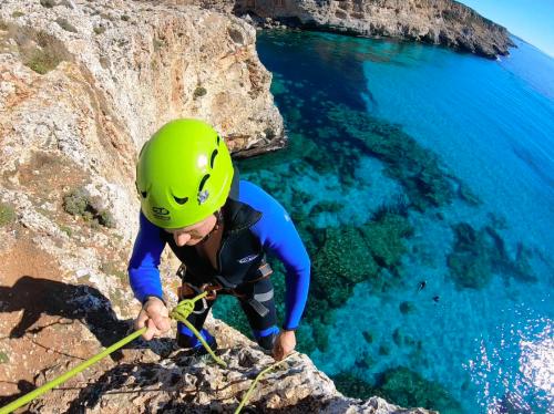 Sea caving adventure in mallorca