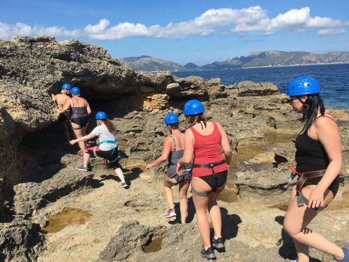 coasteering hiking