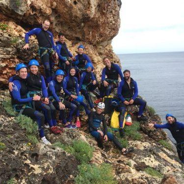 Coasteering groups Mallorca