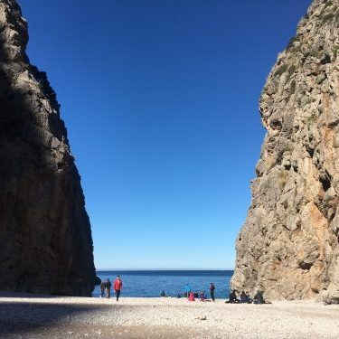 Sa calobra beach hiking